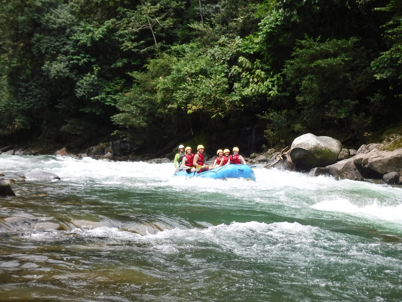 1 day rafting tour